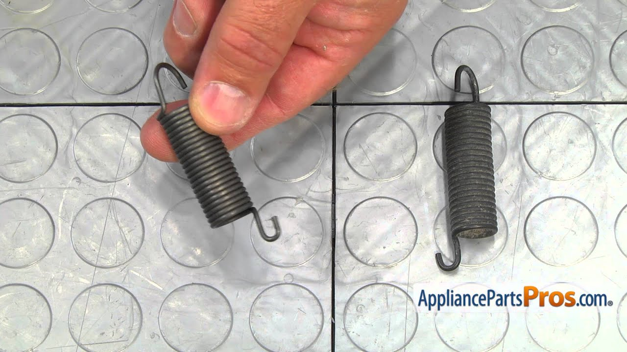 Dryer Idler Arm Spring Part Wpw10446781 How To Replace Youtube Belt Diagram Also Whirlpool Microwave Oven On Ge