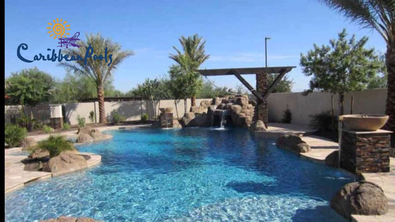 Pool builder of arizona caribbean pools photo gallery for Pool builders in az