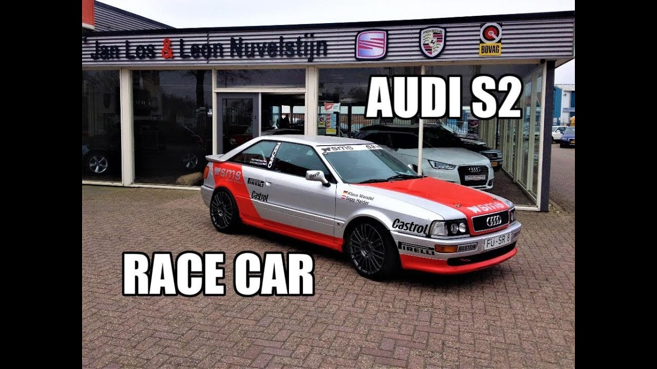 Audi S2 Race Car SMS Revo look Review & Testdrive - YouTube  Audi S Builat on