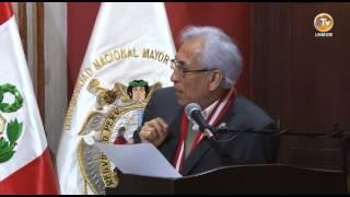 EDGAR MONTIEL ES CONDECORADO COMO PROFESOR HONORARIO