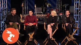Bohemian Rhapsody Cast Talks the Upcoming Freddie Mercury Biopic
