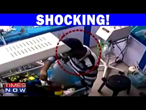 Caught On Camera: Roorkee Hospital's Ward Boy Breaks Infant's Leg