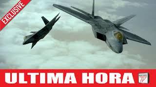 MÁXIMA TENSIÓN: Se Interceptan dos Aviones de combate Rusos en Nuestra zona aérea en Alaska.