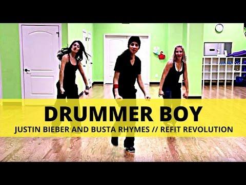 """Drummer Boy"" || Justin Bieber & Busta || Christmas Choreography || REFIT® Revolution"