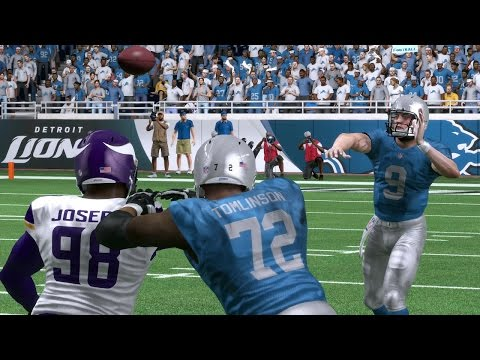 Lions vs Vikings | Thanksgiving Day Game Sim - Madden NFL 17 (Xbox One)