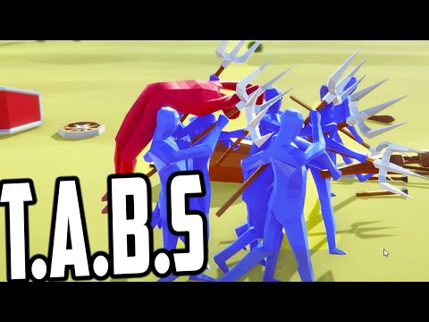 Totally Accurate Battle Simulator - CARRIED AWAY BY THE ENEMY! (T.A.B.S Gameplay)