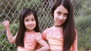 April2018 vestiti cerimonia per le sorelle ceremony dresses for baby girls 亲子装