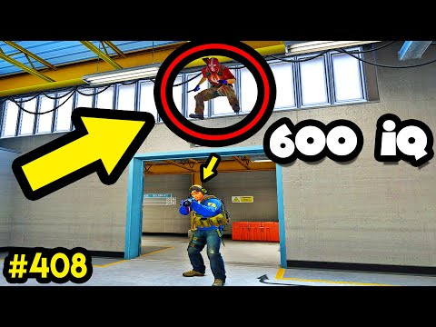 600 IQ PIXEL GLITCH/BUG! - CS:GO BEST ODDSHOTS #408