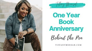 One Year Book Celebration | Tiffany Mensah | 2.20.2021