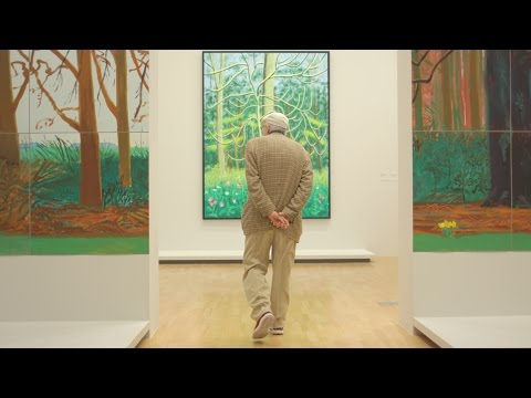 David Hockney reflects on the exhibition DAVID HOCKNEY: CURRENT