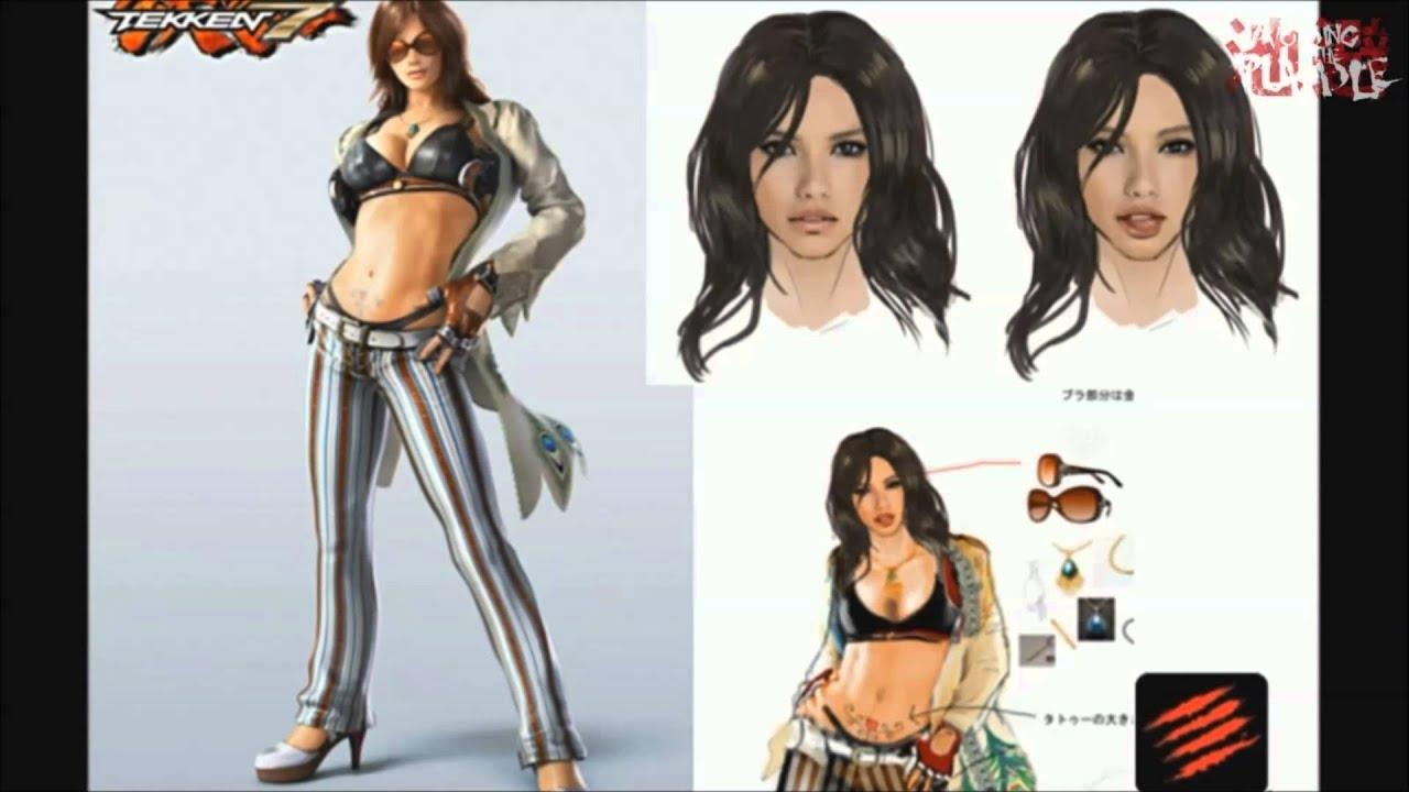 Tekken 7 New Female Character Catalina Location Test Plus More Tekken Video Fanpop