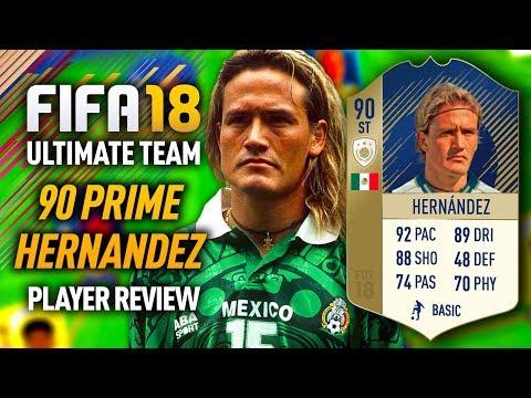 FIFA 18 PRIME ICON LUIS HERNANDEZ (90) *EL MATADOR* PLAYER REVIEW! FIFA 18 ULTIMATE TEAM!