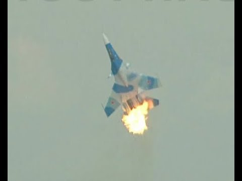 Авария Су-30МК в