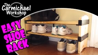 Build A Shoe Shelf With Rockler's I-semble Slip-on Shelf Brackets