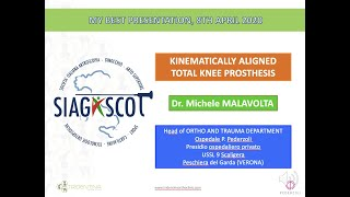 I FONDAMENTI DEL KINEMATIC ALIGNMENT IN PROTESICA DI GINOCCHIO