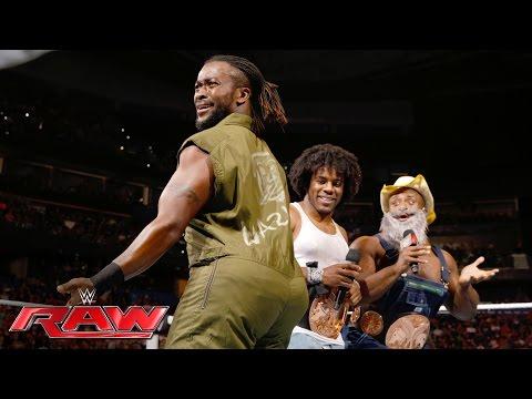 The New Day mock The Wyatt Family: Raw, June 27, 2016