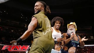 The New Day mock The Wyatt Family: Raw, June 27, 2016