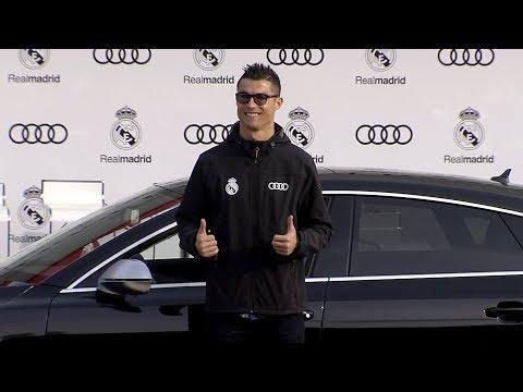Real Madrid Audi Car Handover