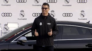 Real Madrid Audi Car Handover