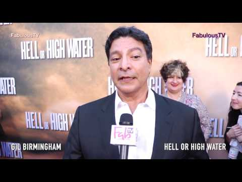 Gil Birmingham talks about  'Hell or High Water'  premiere on Fabulous TV