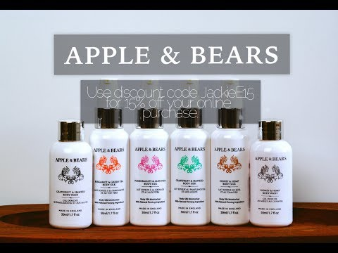 **DISCOUNT CODE** APPLE AND BEARS SKINCARE LINE             JackieEFFEX