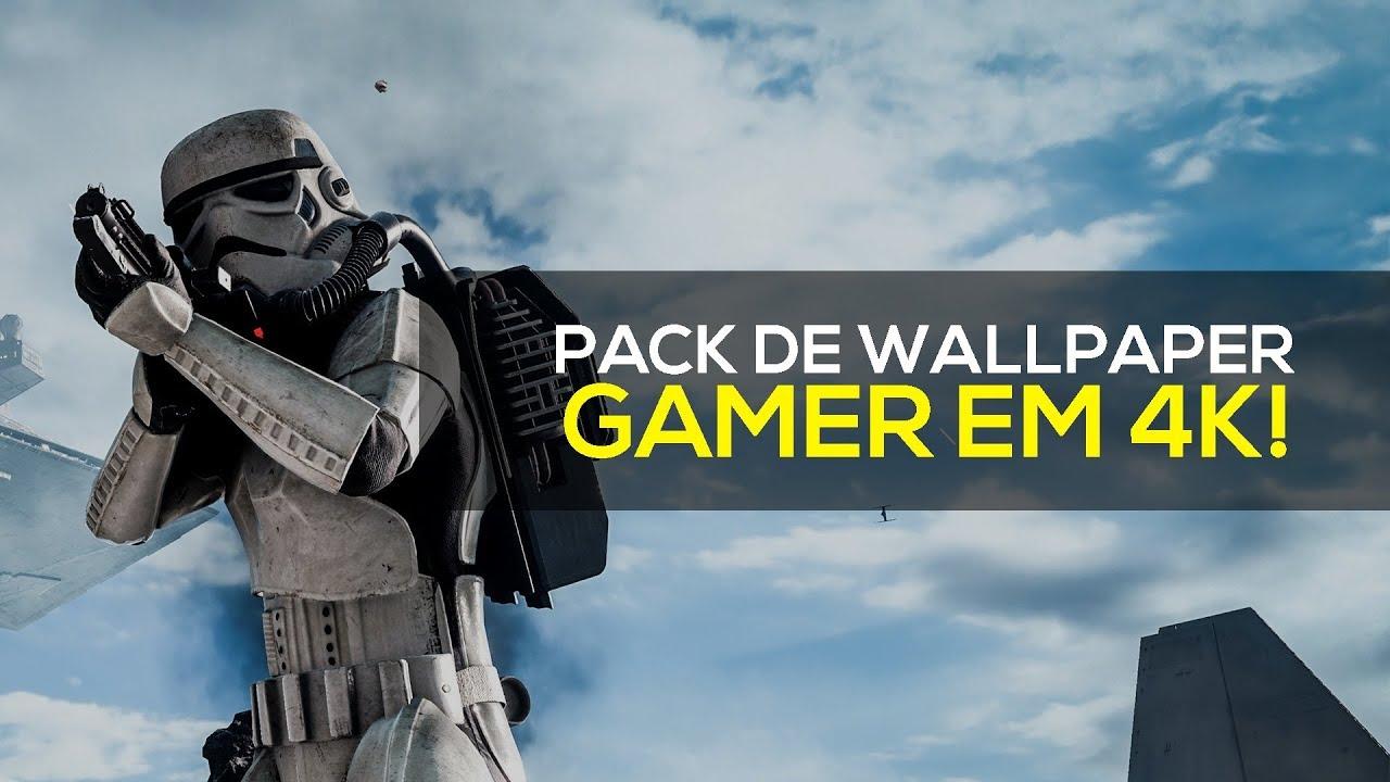 Pack De Wallpaper Gamer Em 4k Janeiro 2018 Youtube