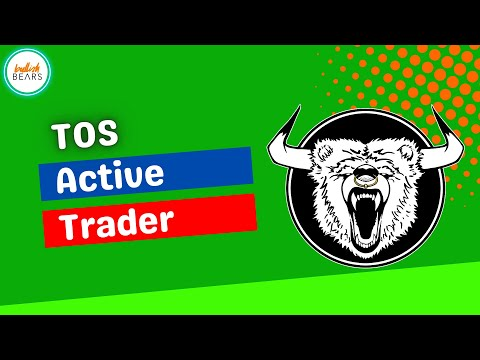 ThinkorSwim Active Trader Tutorial