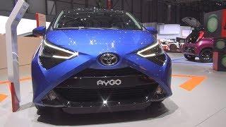 Toyota Aygo x-clusiv 1.0 VVT-i 5MT (2018) Exterior and Interior