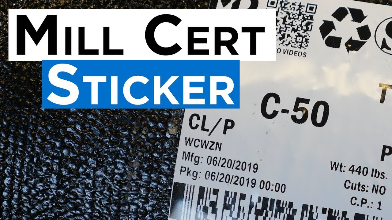 What Are Mill Certs and Why Are They Needed? | McWane Ductile
