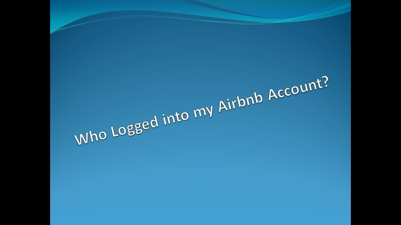 airbnb login to my account