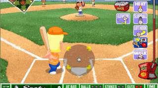 backyard baseball league pc tournament game 4 taking an out for