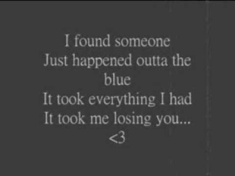 Blake Shelton- I Found Someone w/ lyrics.