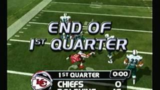 NFL Blitz 2003 - Dolphins at Chiefs (1st Half)