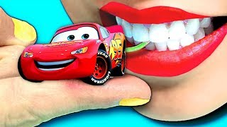 Tayo The Little Bus & Disney Cars 3 | Lightning McQueen Racing Cars Toys Paw Patrol | Toys For Kids