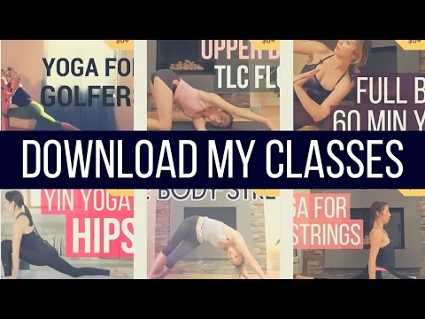 Download my Yoga Classes {FREE}