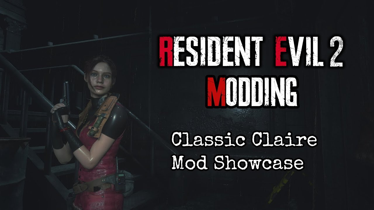 Resident Evil 2 Remake Modding: RE2 Classic Claire Fix Mod Showcase