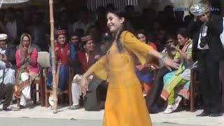 Beautiful girl dances | Global TV | in Gilgit festival