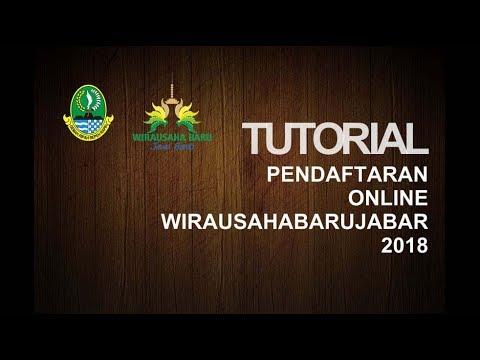 Tutorial Pendaftaran Online Wirausahabarujabar 2018