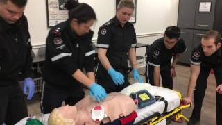 Demo for Guinness Book of World Records review by St John Ambulance SJA York Region