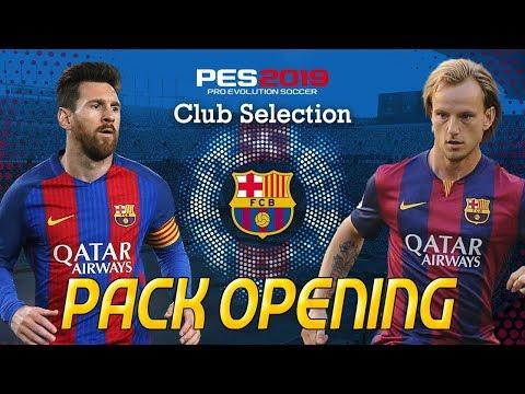 BALL OPENING BARCELONA CLUB SELECTION - PES 2019 MYCLUB