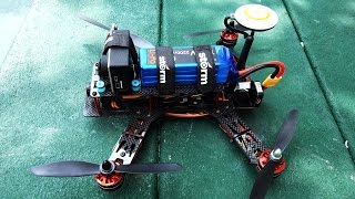 STORM Racing Drone GPS (RTF / NAZA V2) TYPE A CHASSIS - FIRST FLIGHT