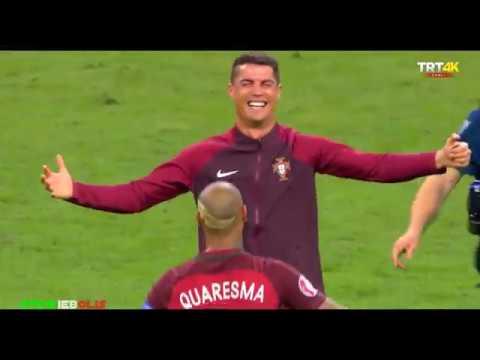 RONALDO vs Fransa 2016 Avrupa Şampiyonası Finali / Hall of fame