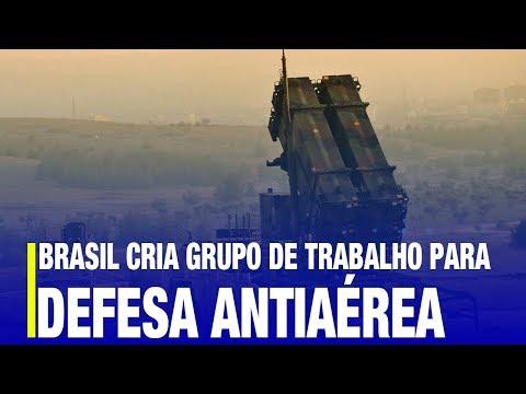 Defesa Antiaérea - Brasil Cria Grupo De Trabalho Para Defesa Aérea De Longo E Médio Alcance