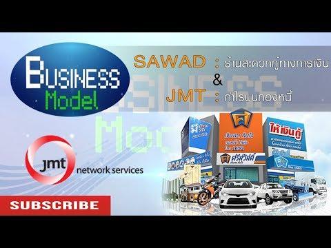 Business Model | SAWAD ร้านสะดวกกู้ทางการเงิน & JMT กำไรบนกองหนี้ #9/8/17