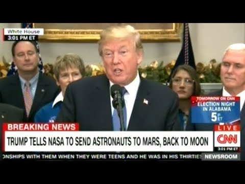 President Trump Signs Space Policy Directive Ordering NASA To Return To The Moon!