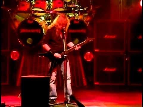 Megadeth train of consequences video