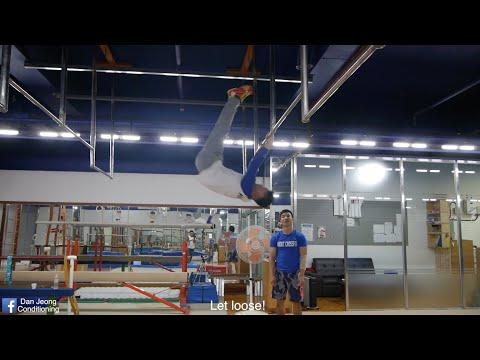 Gymnastics Kip/Muscle Up Tutorial (차오르기/머슬업 �