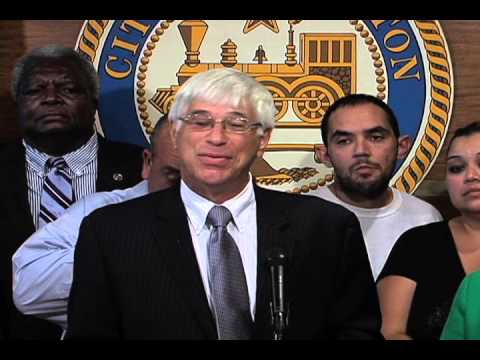 Special Mayor's Press Conference: Settlement for Wrongful Conviction - 11/02/12