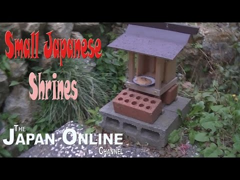 Outside (Shinto) Shrines in Japan
