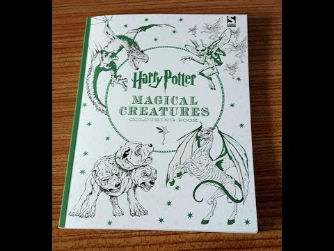 ArtStation - Harry Potter Magical Creatures Coloring Book, Scott ... | 360x480